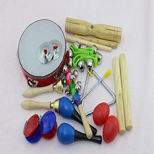 Toy Drum Musical Instruments : Hot new lebbeen pcs novelty kids roll drum musical